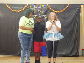 Adventure camp dedicates talent show to former camper