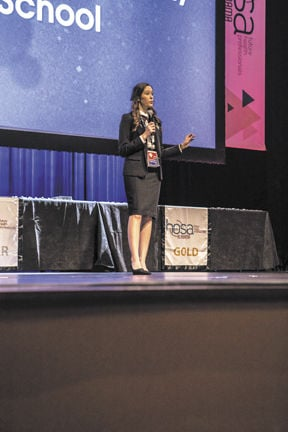 Enterprise HOSA students bring home awards