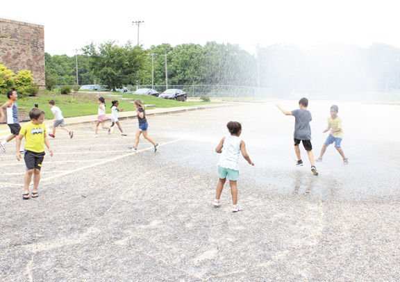 Fire department offers summer camp cool down