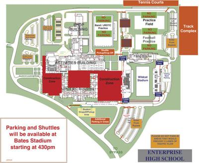 EHS releases 2019-20 football season parking map