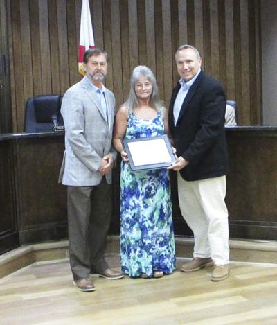 Dale County awards certificate of appreciation to Moore