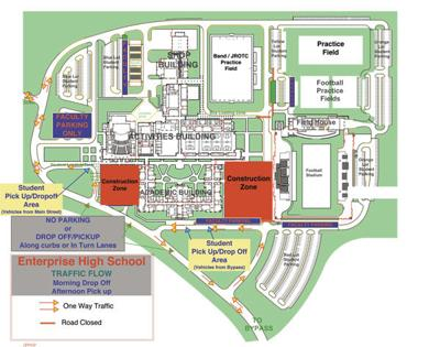EHS released 2019-2020 traffic map