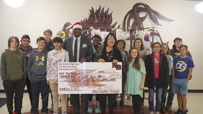 CCFSC receives donation from NBHS