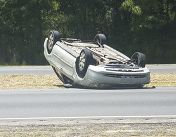 No life threatening injuries in traffic accident Monday