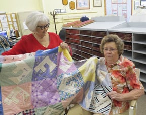 Antique quilt finds its way home