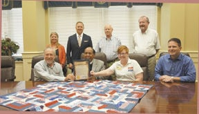 Enterprise Proclaims 'Wounded Veterans Week'
