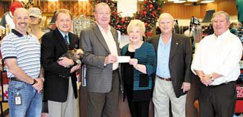 Yancey Parker's donates to Handicap Accessible Cabin Project