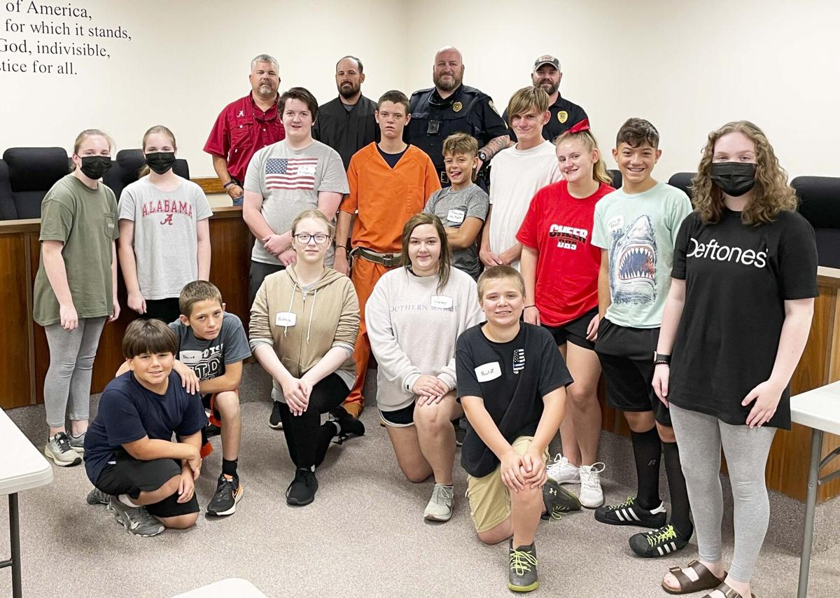 'Investing in the future' purpose of Daleville Jr. Police Academy