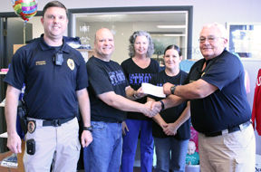 EPD receives donation from local business