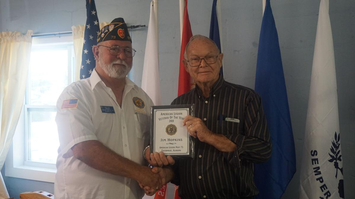 American Legion, Auxiliary name Veteran of the Year