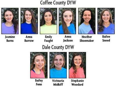 Nine Coffee and Dale County young women will compete for college scholarships