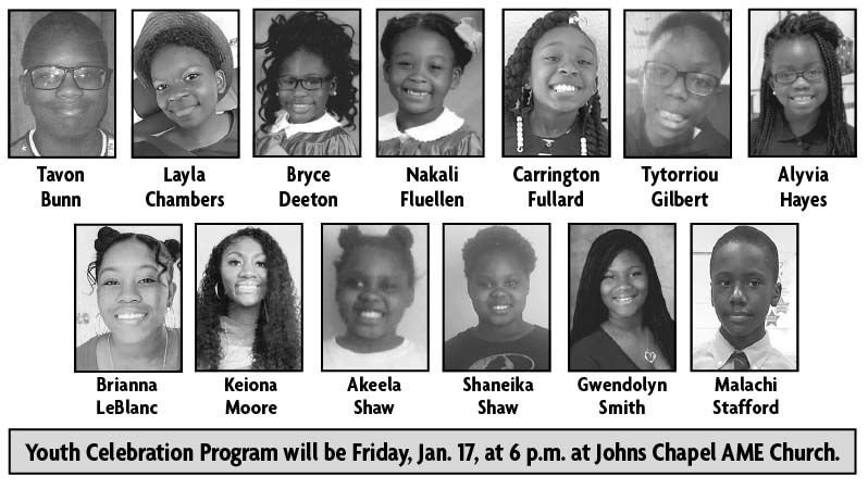 Youth Celebration features 13 students