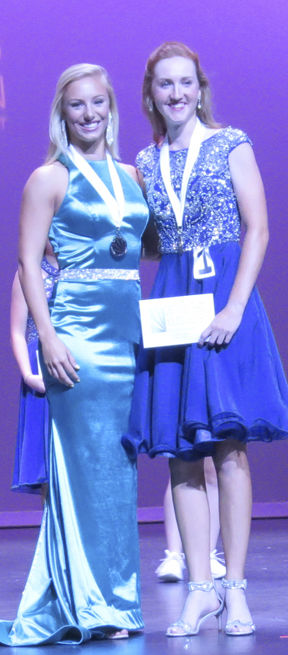 Curtis named Distinguished Young Woman of Coffee County