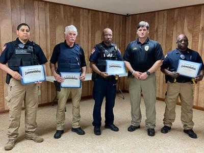 Level Plains Police recognized for outstanding service