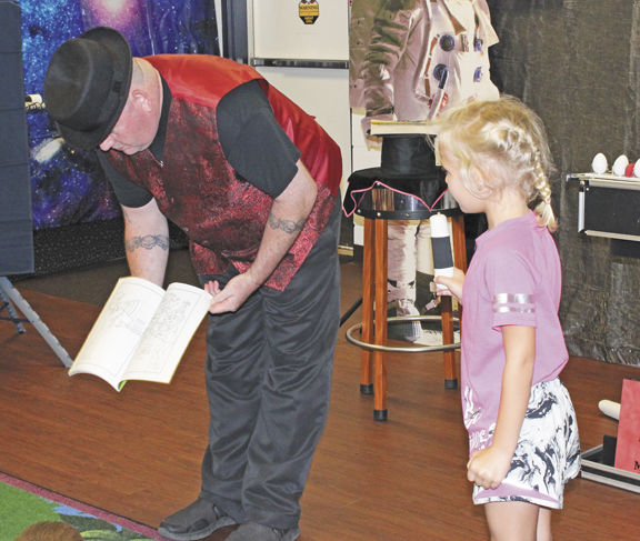 Space, summer reading celebrated with magic