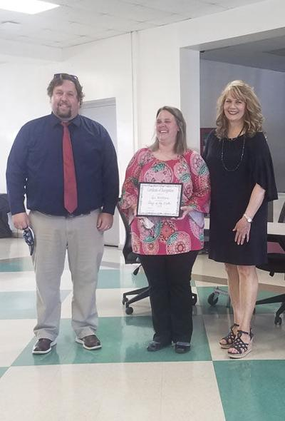 Top Daleville High School employee named