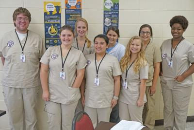 Medical assisting program guides and molds students