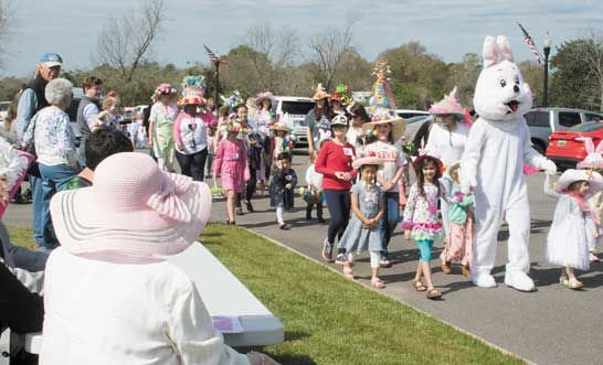 Easter hats parade