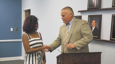 CCBOE recognizes NBHS student