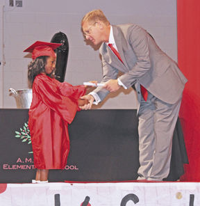 Kindergarteners reminded of lessons learned