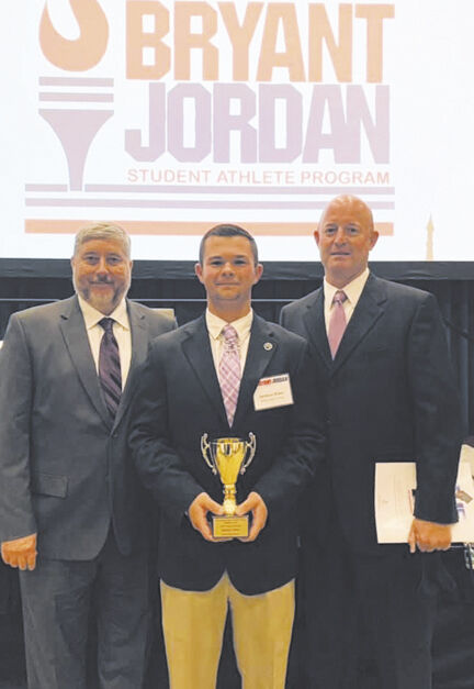 Baker named Bryant-Jordan Scholar Athlete of the Year