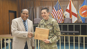 Fort Rucker soldiers recognized