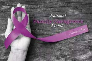 November is National Caregivers Month