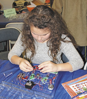Chemistry, circuitry and magnets make STEAM fun   Daleville