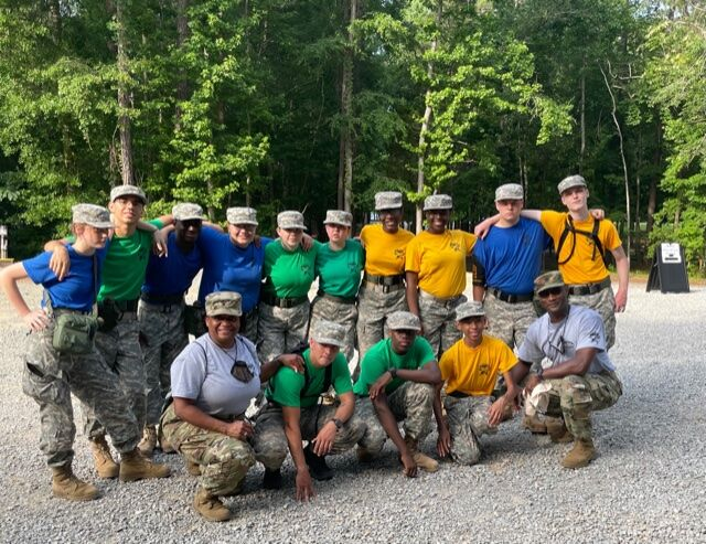 DHS JROTC successfully completes leadership camp