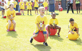 WES students have fun during Field Days
