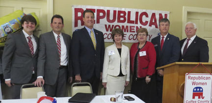 Candidates introduced at RWCC forum