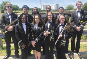 DHS band members perform at All-State