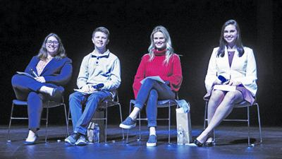 Inaugural Panel in the PAC held