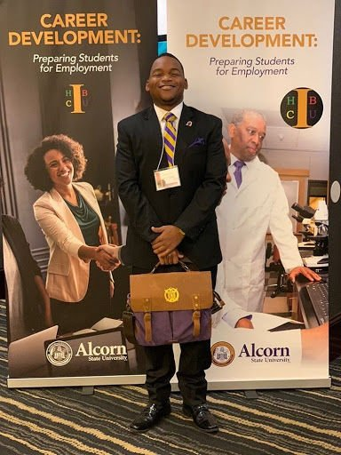 Boast represents SU at Alcorn State Career Development Conference