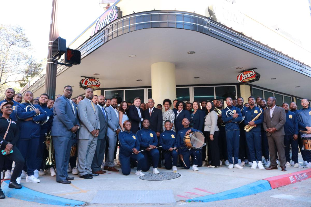Southern University and Raising Canes Partnership