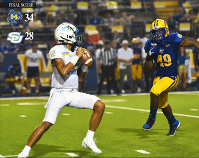 Dropping the Ball:Turnovers prove costly in Jaguars' lost to McNeese State