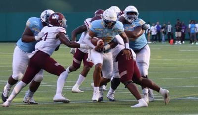 Trippin: Jag's drop close one to Texas Southern in Arlington Showdown