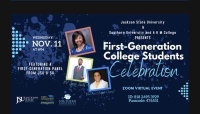Southern U., Jackson State host  First Generation College Celebration