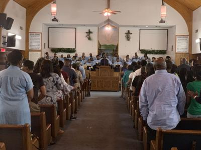 SU Gospel Choir sings at 7Th Annual  Black Caucus Prayer Breakfast