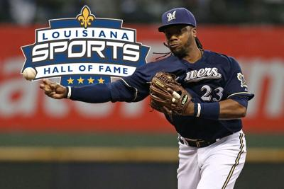 Rickie Weeks Inducted into the Louisiana Sports Hall of Fame