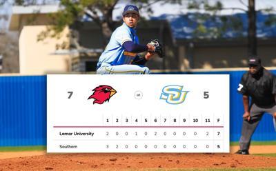 Close One: The Jaguar Baseball Team falls short against the Lamar Cardinals