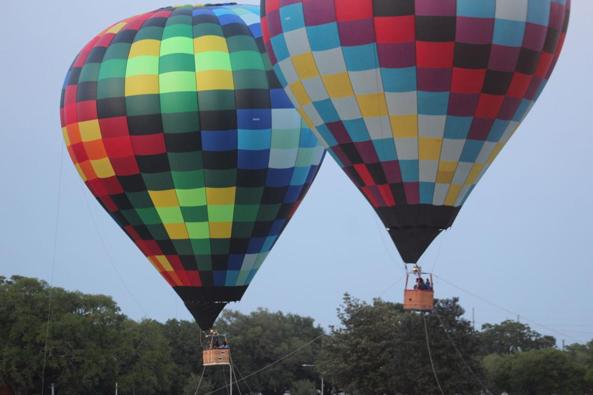 It's Up!: Hot Air Balloons Touchdown on The Bluff for Springfest