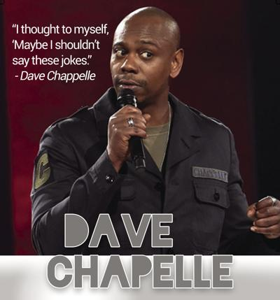 Sticks and Stones Break Bones; but Chappelle is  Still Funny