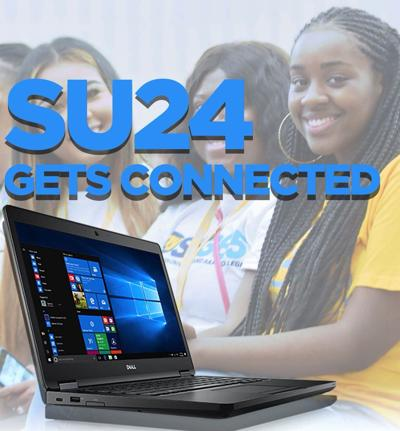 Connected: SU '24 Gets Laptops