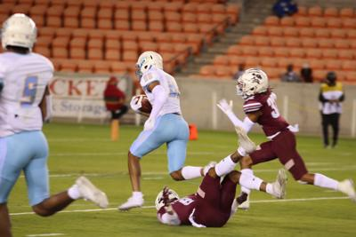 Still Tipping: Jags decimate TSU in four quarter rout