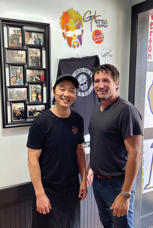 Soy Bistro owners, Kenji Ichikawa and Michael Kaplan