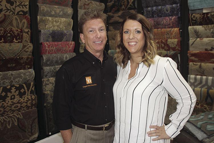 Rick and Traci McCormick of Carpet Den