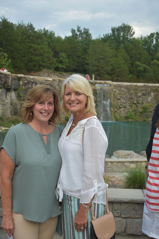 Donna Ryan and Karen Paris