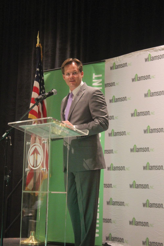 Matt Largen, President and CEO Williamson Inc.