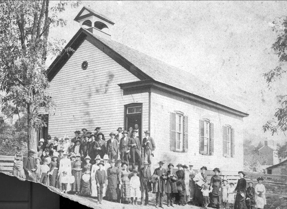 The Peytonsville Church of Christ was built in 1885